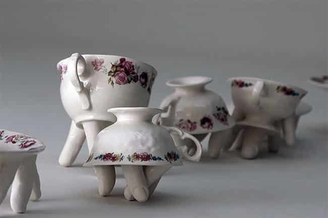 Ожившая керамическая посуда, фото 5