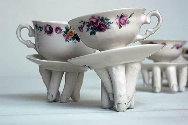 Ожившая керамическая посуда, фото 6