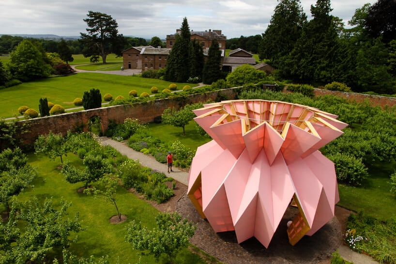 Розовый скульптурный павильон Look! Look! Look!, фото 2