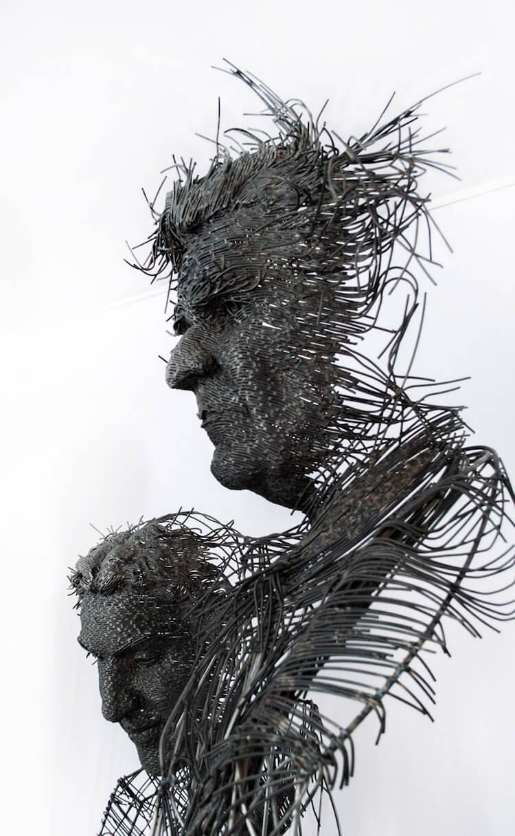 Скульптуры из проволоки, фото 1