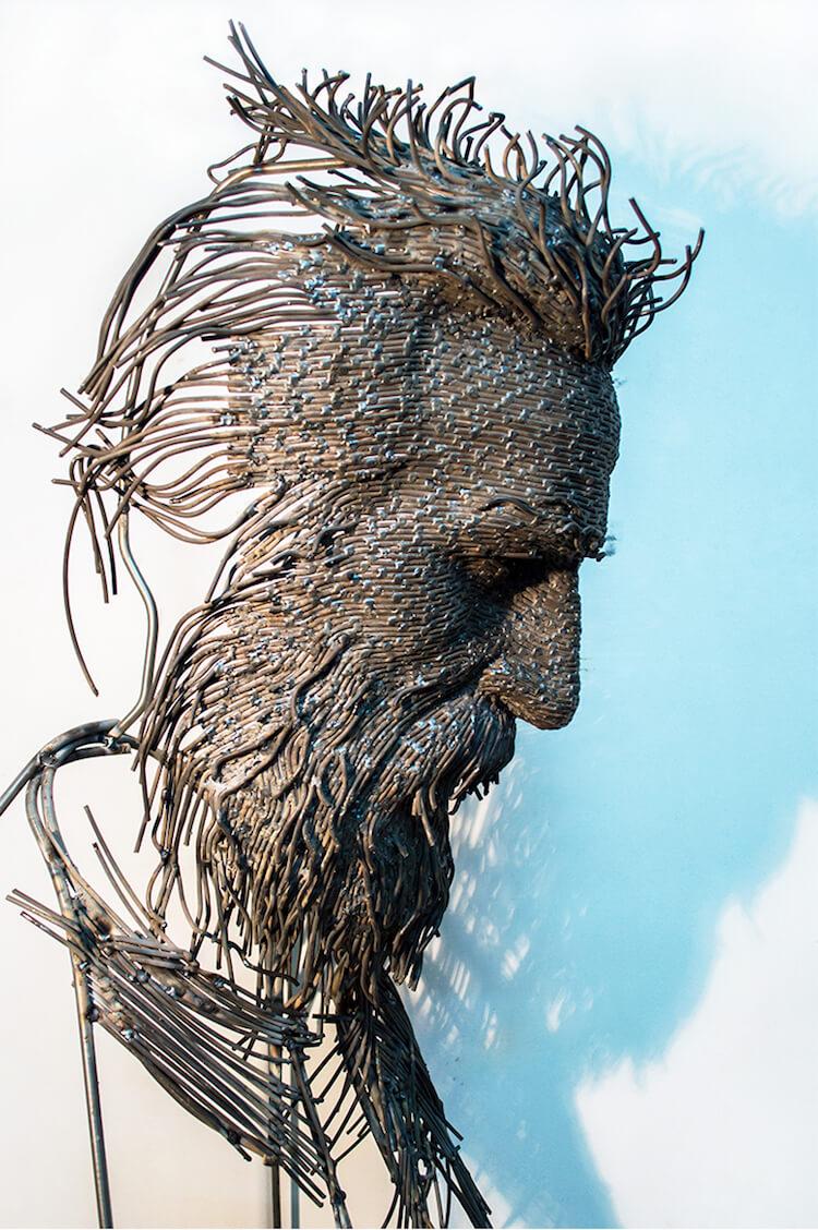 Скульптуры из проволоки, фото 10
