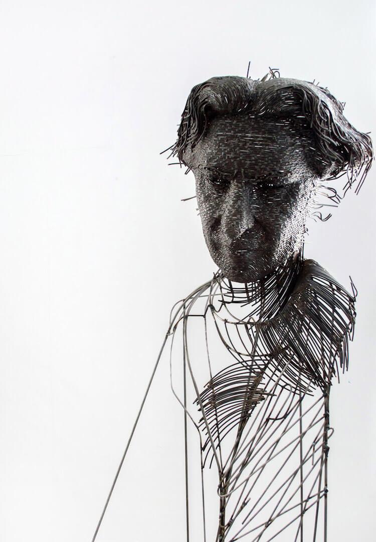 Скульптуры из проволоки, фото 11