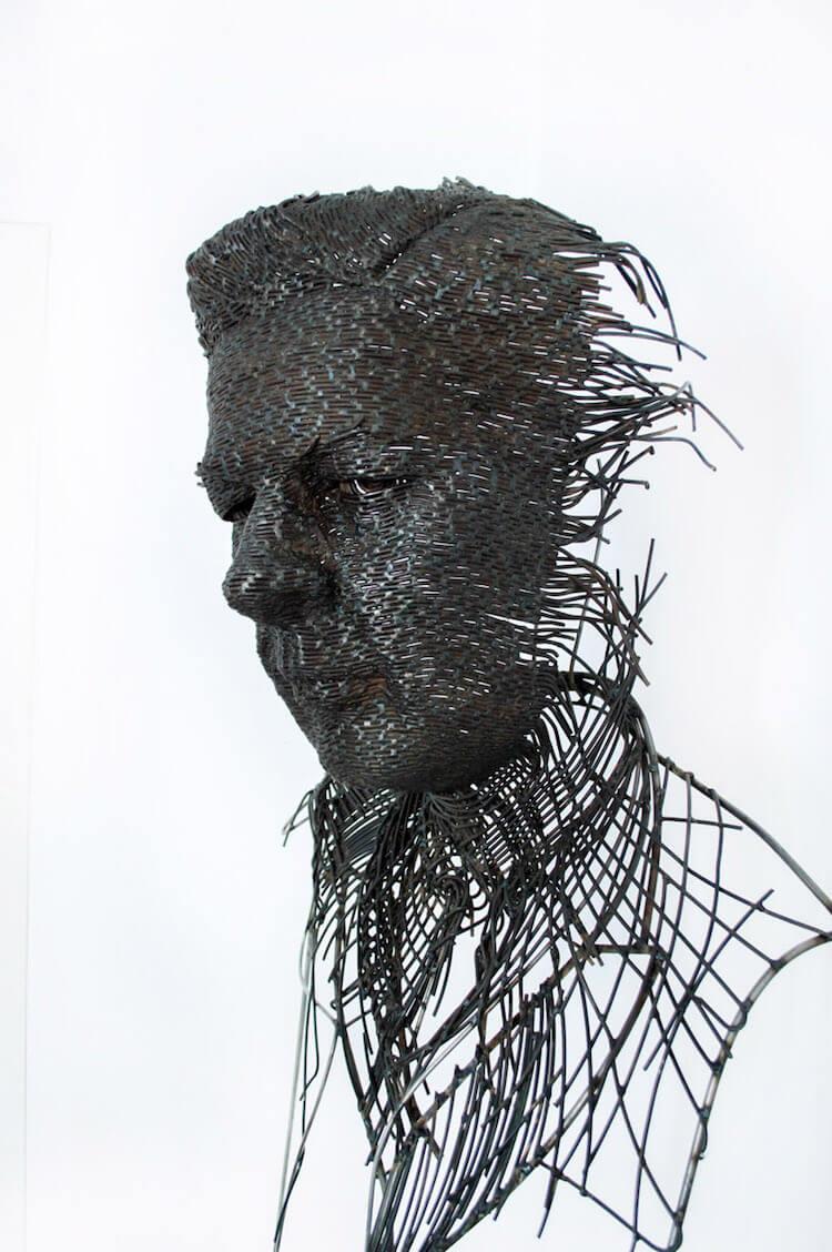 Скульптуры из проволоки, фото 12