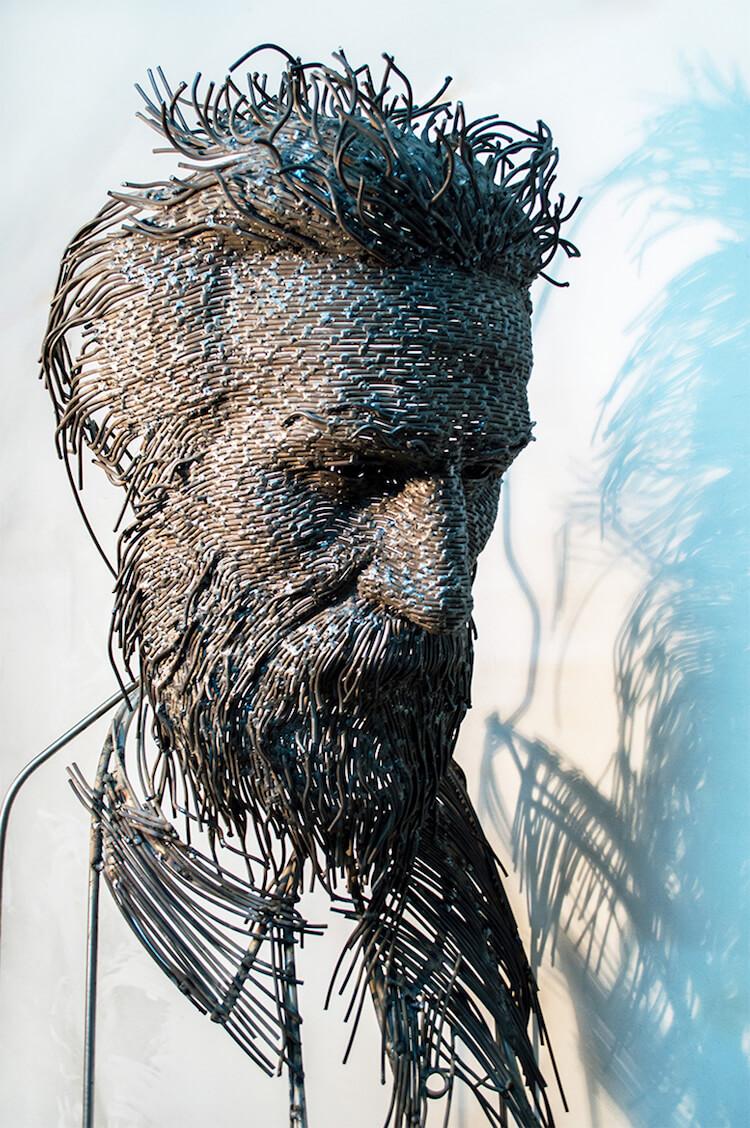 Скульптуры из проволоки, фото 13