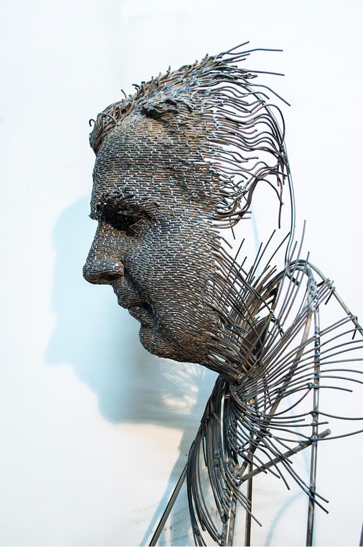 Скульптуры из проволоки, фото 2