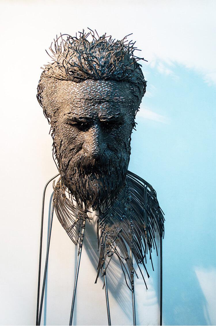 Скульптуры из проволоки, фото 3