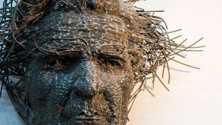 Скульптуры из проволоки, фото 4