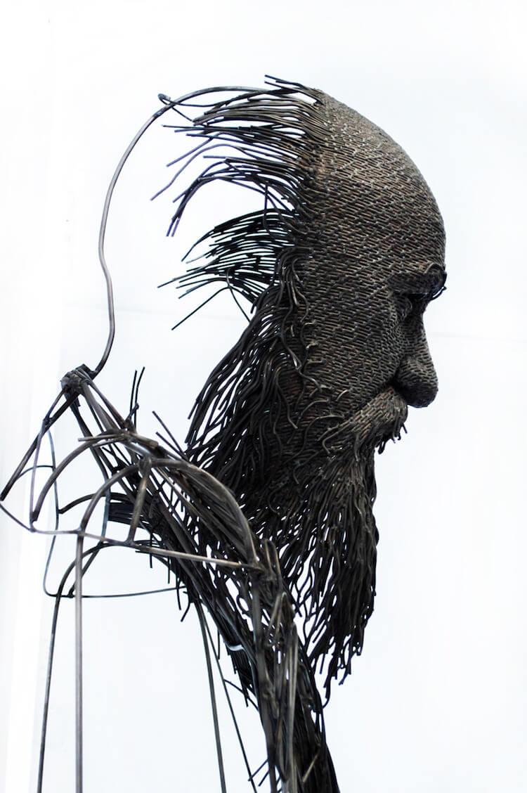 Скульптуры из проволоки, фото 6
