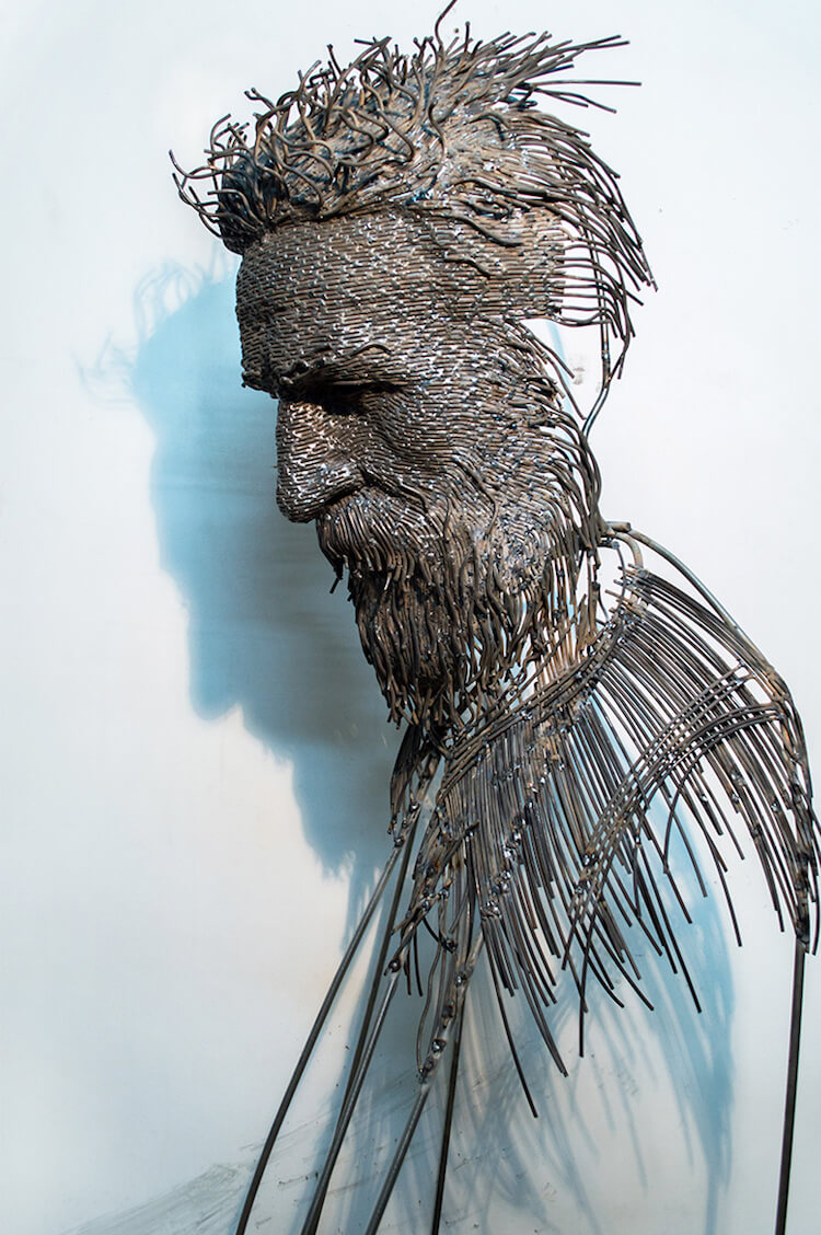 Скульптуры из проволоки, фото 7