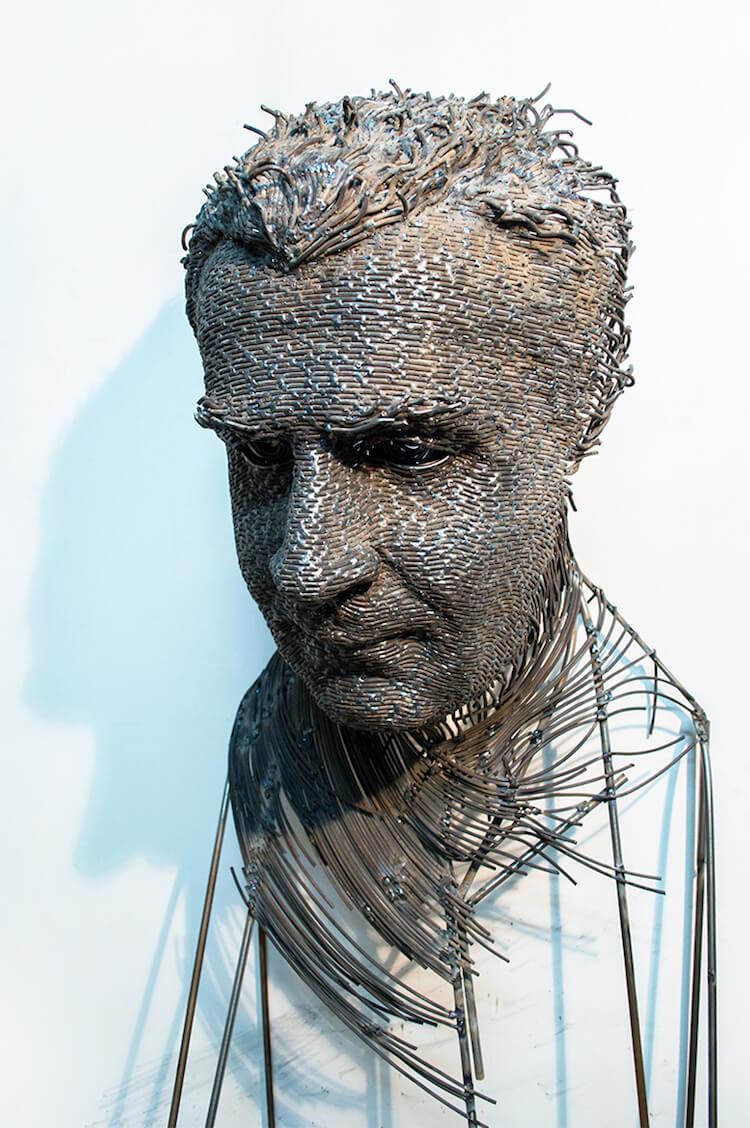 Скульптуры из проволоки, фото 9
