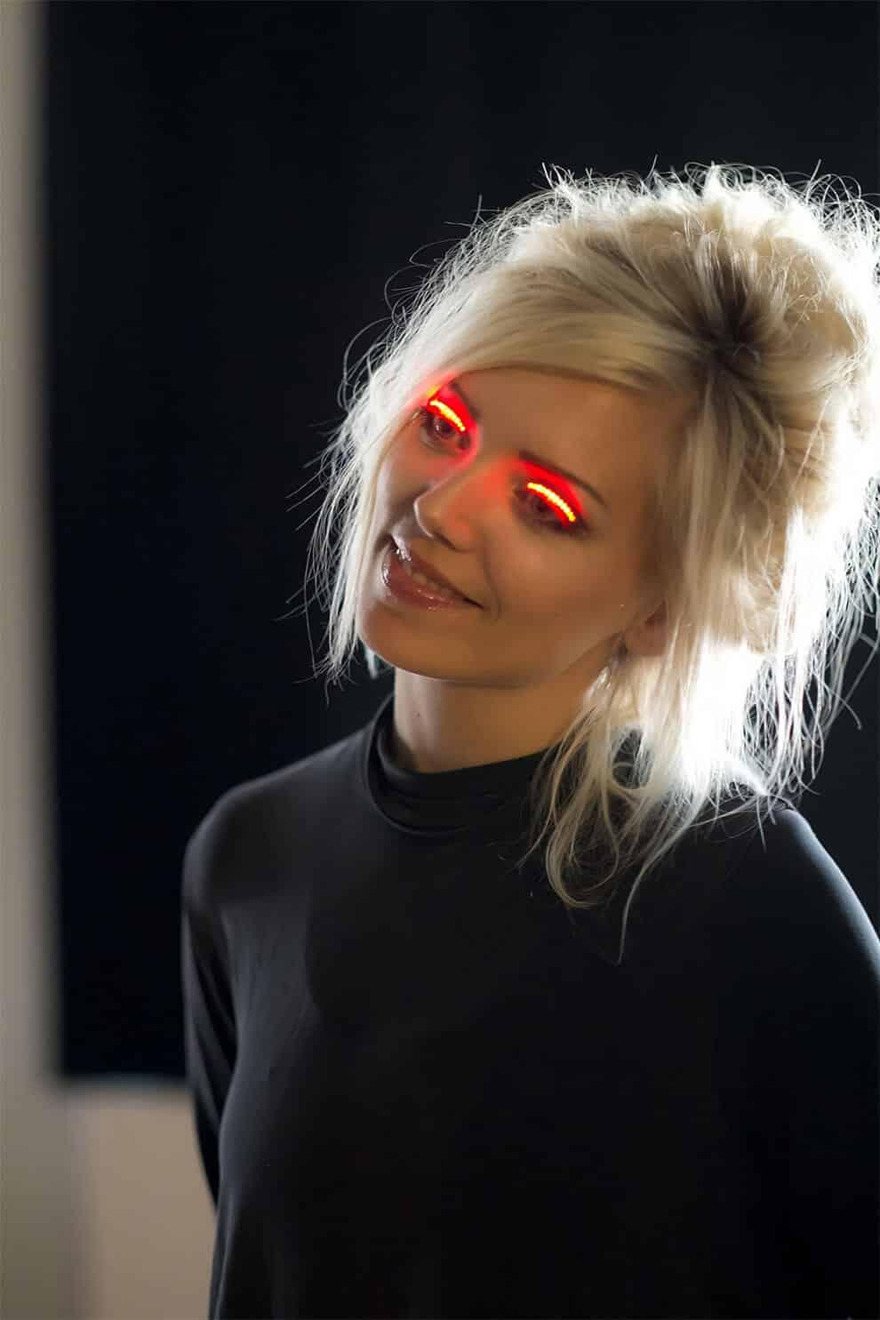 Светодиодные светящиеся ресницы f.lashes, фото 5