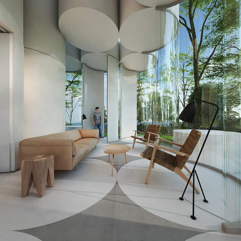Цилиндрический дом посреди леса, фото 6