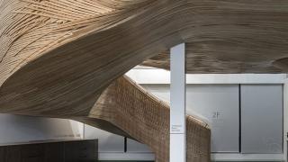 бамбуковая лестница для офиса Elephant Parade, фото 2