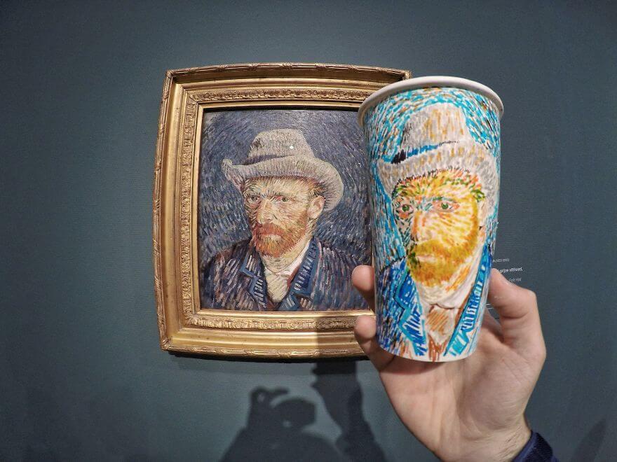 достопримечательности мира в рисунках на стаканчиках, фото 10