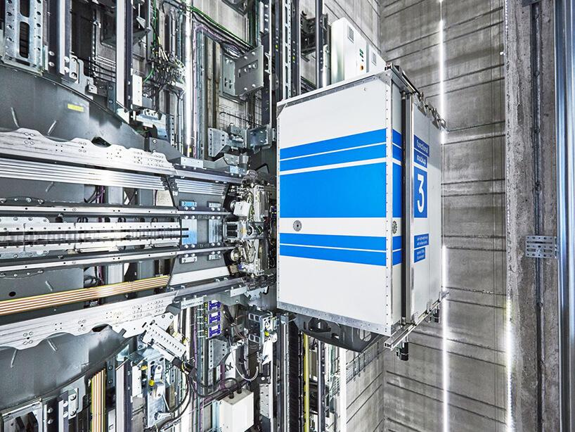 горизонтально-вертикальный лифт MULTI без троса, фото 4