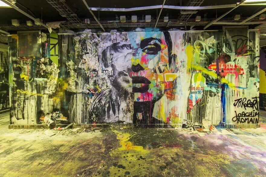 художники разрисовали стены студенческого общежития, фото 16