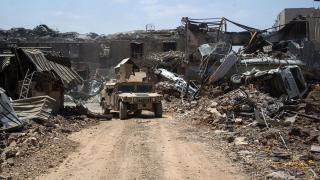 иракский город Мосул во время боев, фото 18