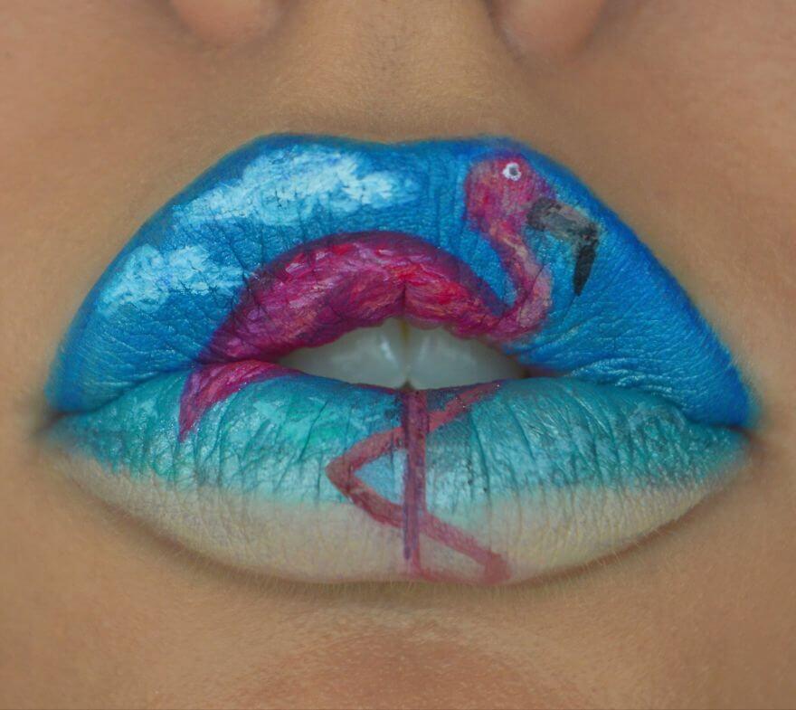 макияж губ - удивительные фотографии 11
