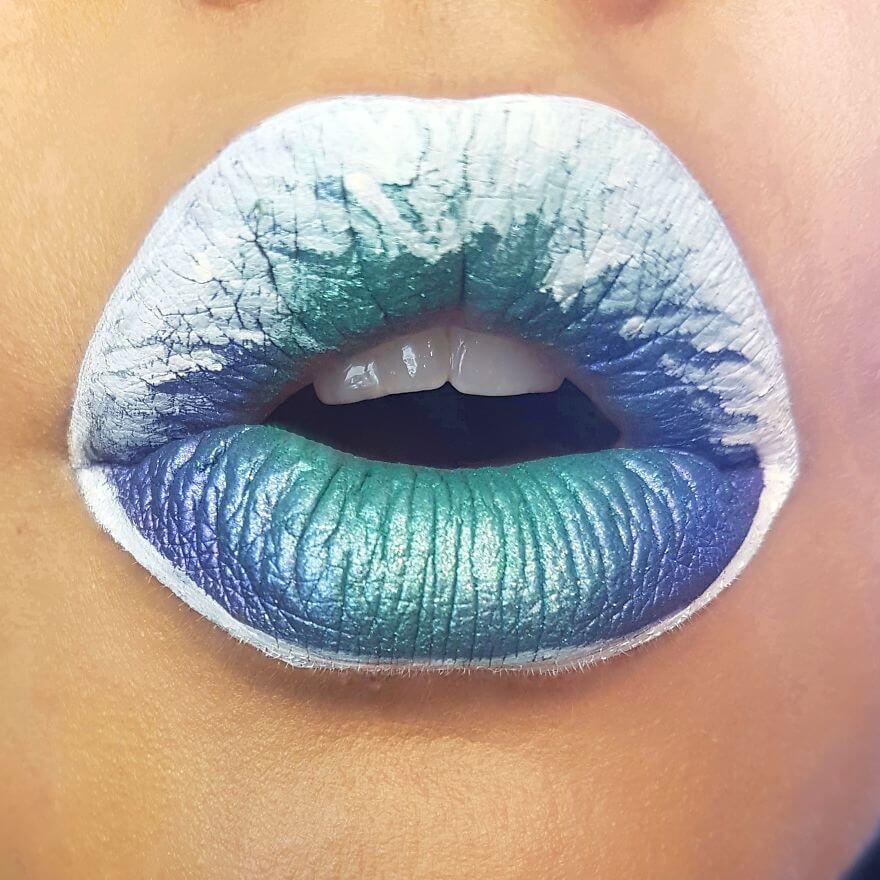 макияж губ - удивительные фотографии 15