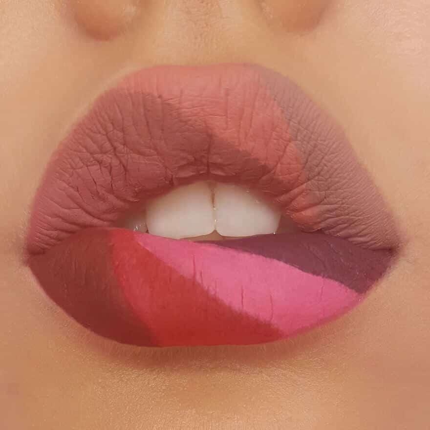 макияж губ - удивительные фотографии 17