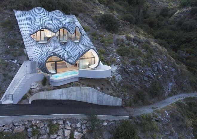 уникальная архитектура современного дома, фото 13