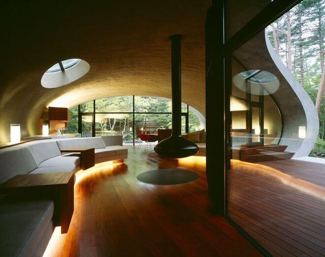 уникальная архитектура современного дома, фото 5