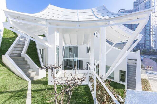 уникальная архитектура современного дома, фото 7