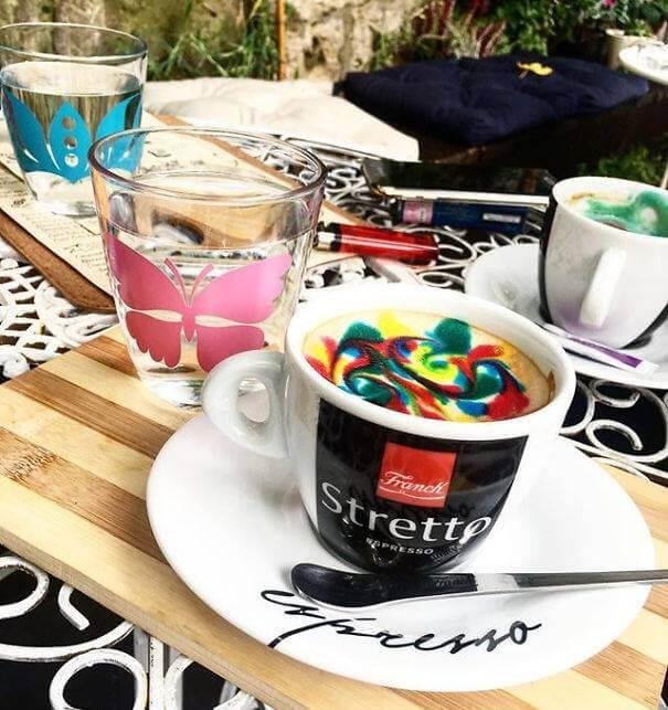 Рисунки на кофе, фото 3