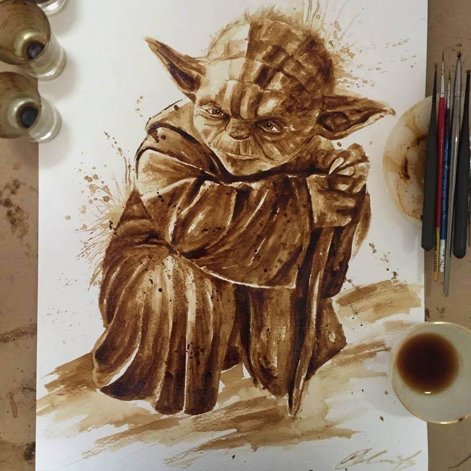 Рисунки на кофе, фото 4