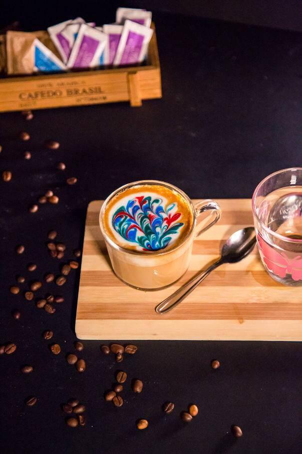 Рисунки на кофе, фото 7