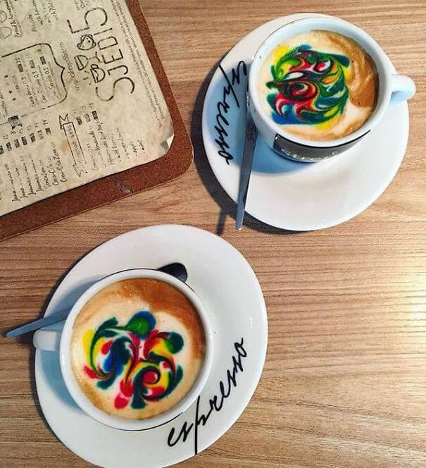 Рисунки на кофе, фото 8