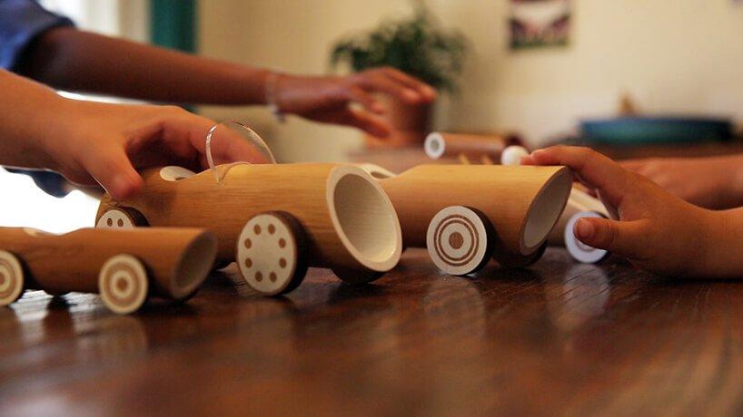 Машинки из бамбука, фото 3