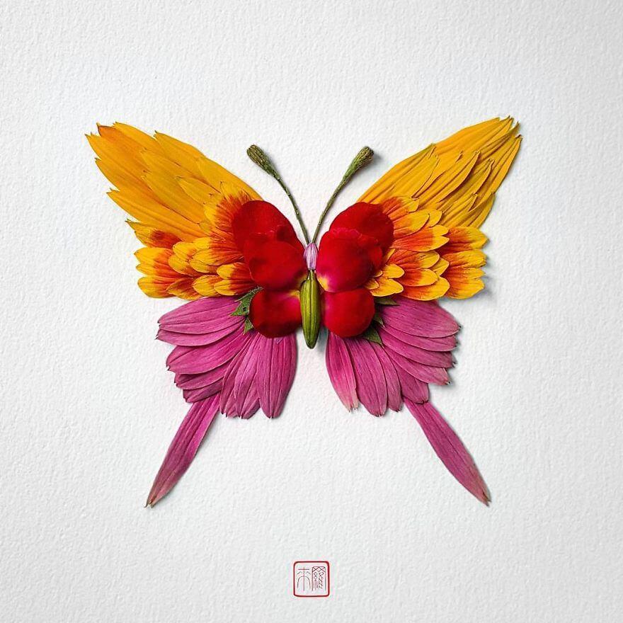Насекомые из цветов, фото 1