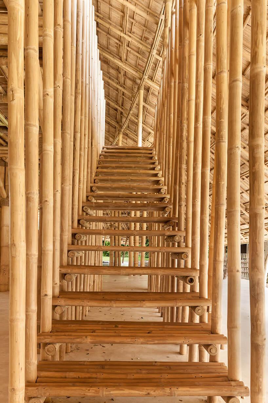 Школа из бамбука, фото 2