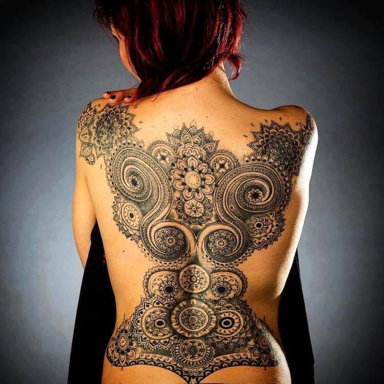 Кружевные татуировки, фото 12