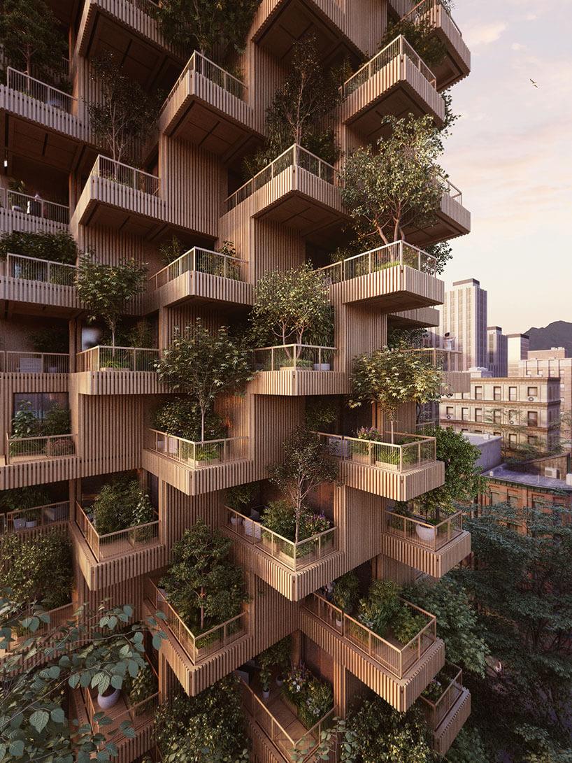 Деревянны небоскреб, фото 4