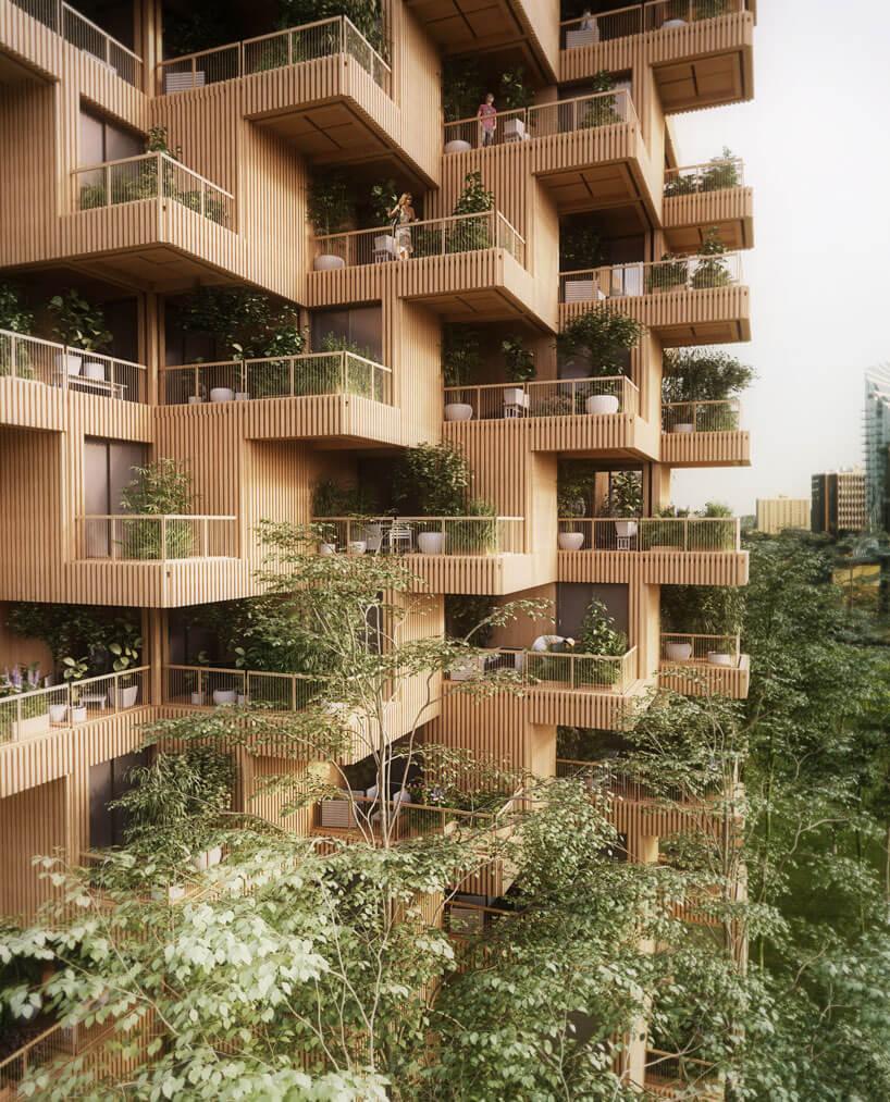 Деревянны небоскреб, фото 6