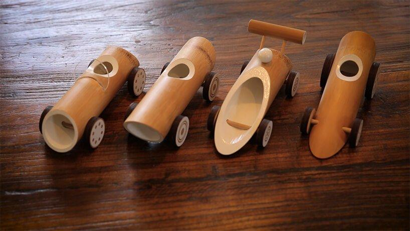 Машинки из бамбука, фото 5