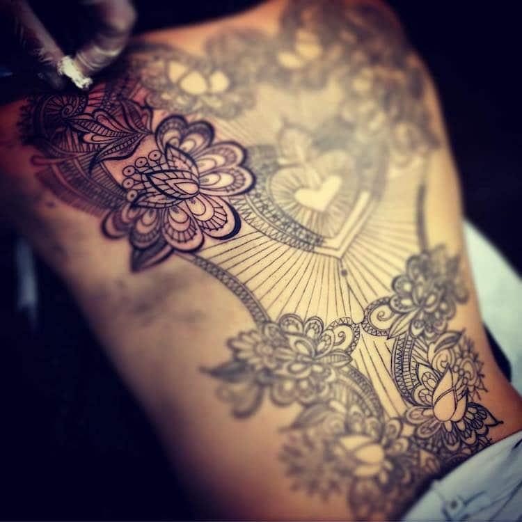Кружевные татуировки, фото 13