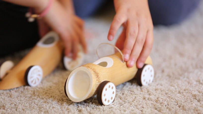 Машинки из бамбука, фото 9