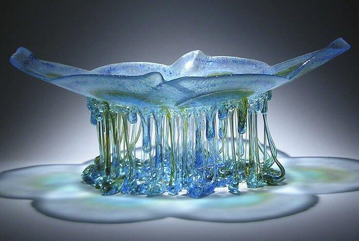 Стеклянные столы-медузы, фото 2