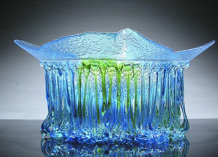 Стеклянные столы-медузы, фото 4