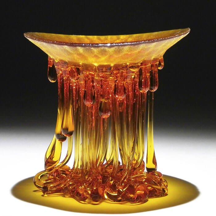 Стеклянные столы-медузы, фото 5