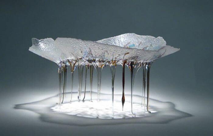 Стеклянные столы-медузы, фото 7