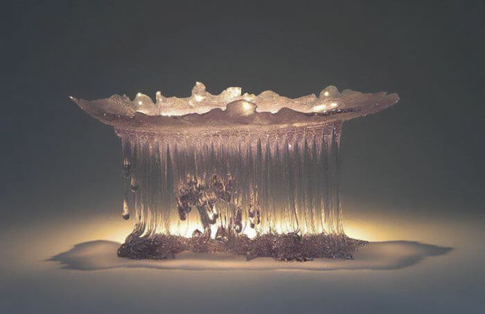 Стеклянные столы-медузы, фото 8