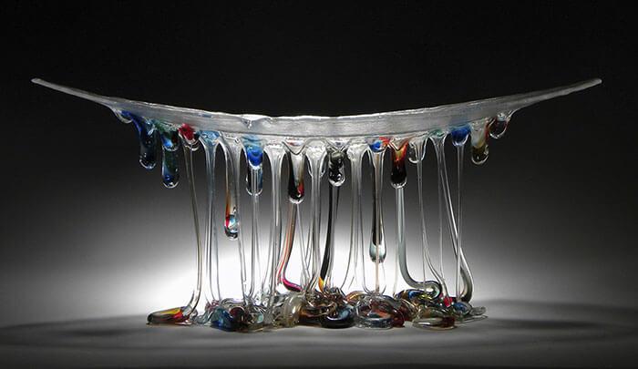 Стеклянные столы-медузы, фото 14