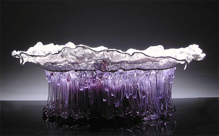 Стеклянные столы-медузы, фото 1