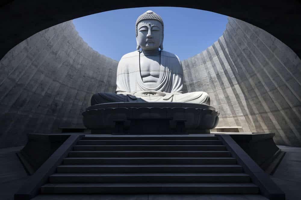 гигантская статуя Будды в Японии, фото 6