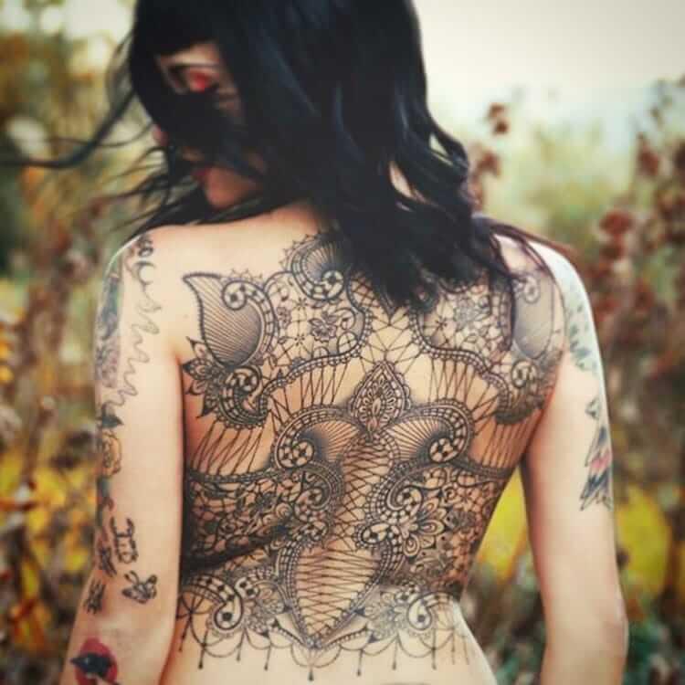 Кружевные татуировки, фото 1