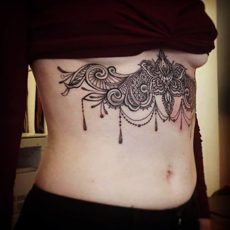 Кружевные татуировки, фото 8